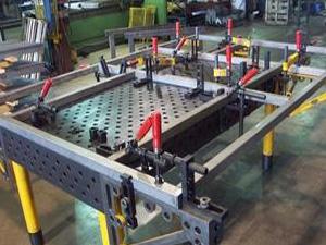 三维柔性焊接工作平台