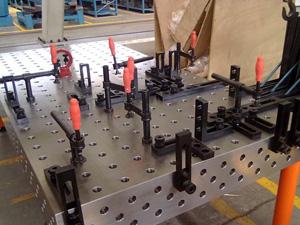 柔性智能焊接平台
